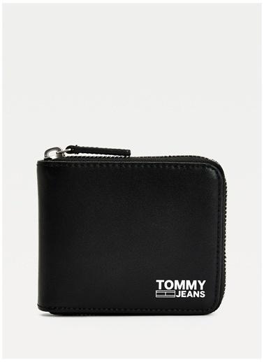 Tommy Hilfiger Tommy Hilfiger Erkek Siyah Cüzdan Siyah